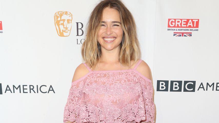 Emilia Clarke bei der BAFTA Tea Party 2016
