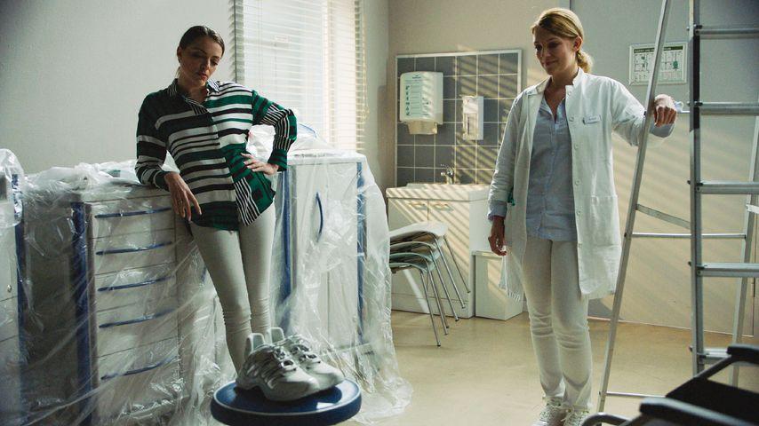 Emily (Anne Menden) und Lilly (Iris Mareike Steen) bei GZSZ