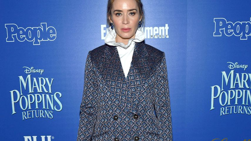 "Horror vor ""Mary Poppins""-Szenen: Emily Blunt hat Höhenangst"
