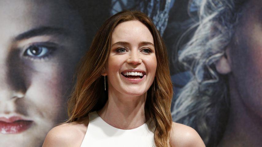 Schwanger am Set: Für Emily Blunt kein Problem