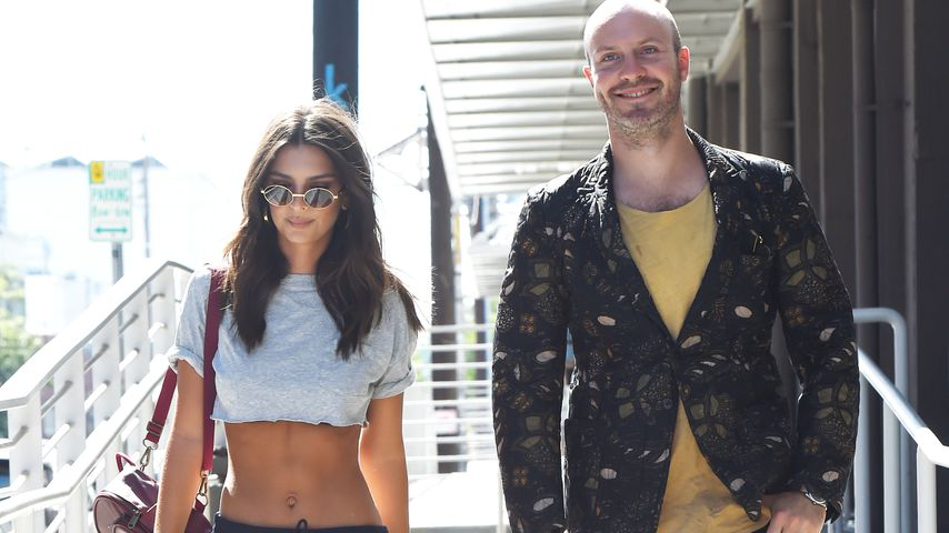 Emily Ratajkowski und Jeff Magid in Los Angeles