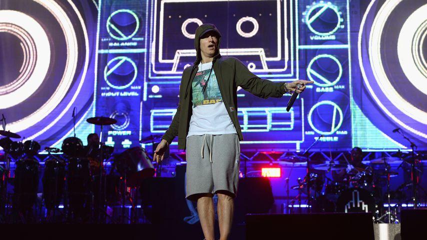 Eminem 2014 auf dem Lollapalooza