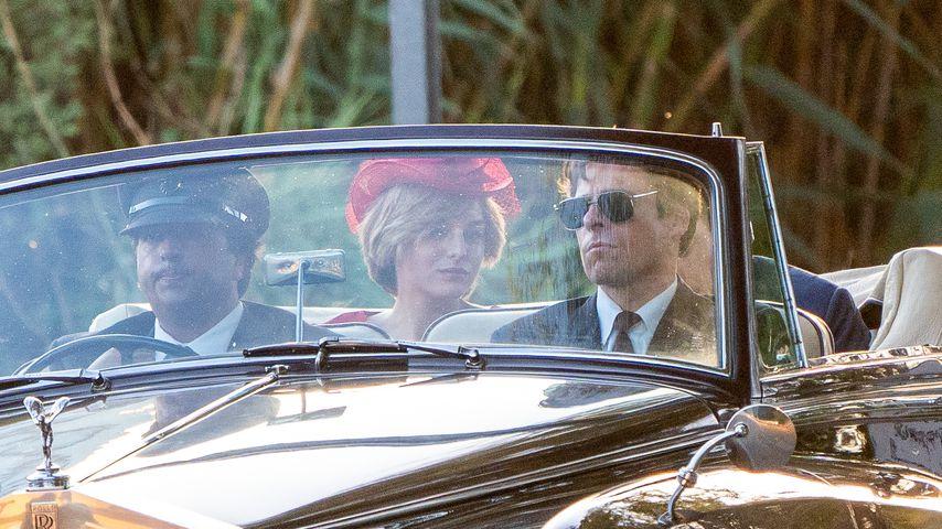 """Emma Corrin und Josh O'Connor als Prinzessin Diana und Prinz Charles in """"The Crown"""""""