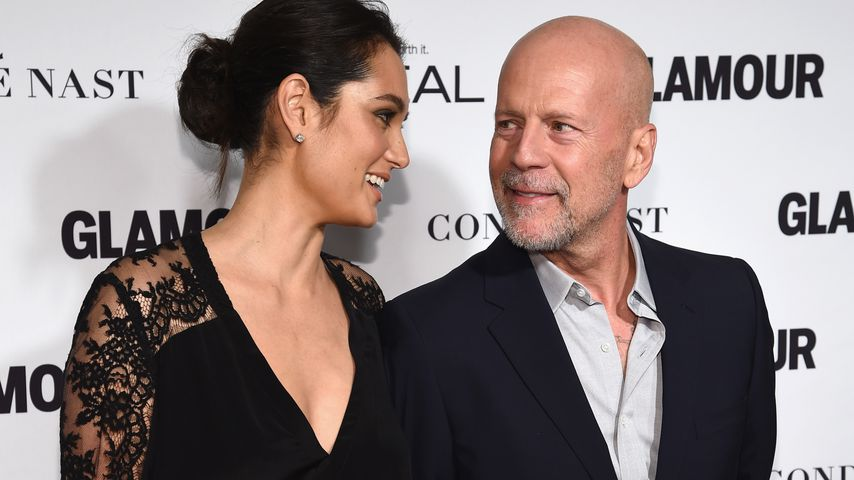 Emma Heming Willis und Bruce Willis bei den Women Of The Year Awards 2014