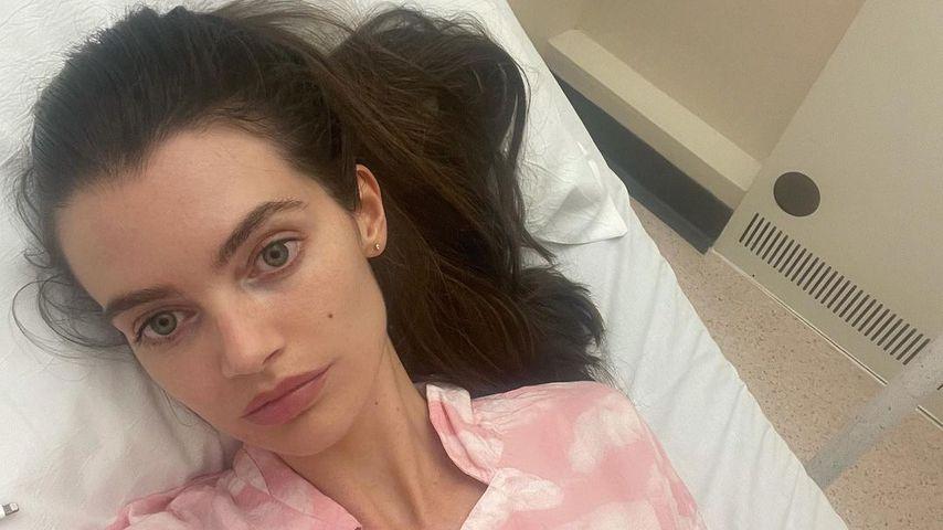 Viel Blut verloren: Gary Beadles Frau Emma im Krankenhaus