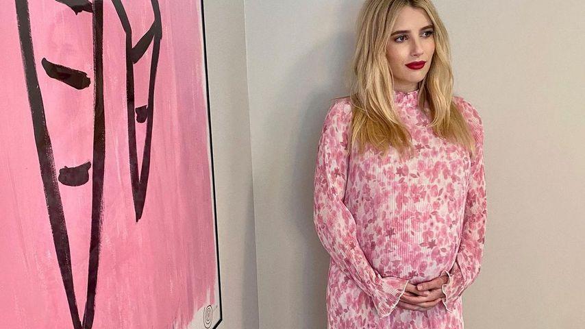 Emma Roberts während ihrer ersten Schwangerschaft