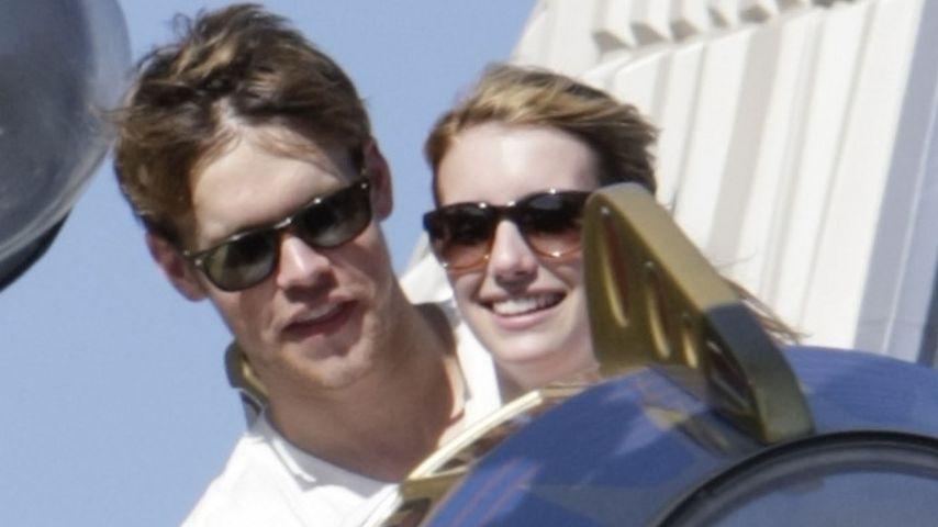 Emma Roberts & Chord Overstreet im Liebesrausch