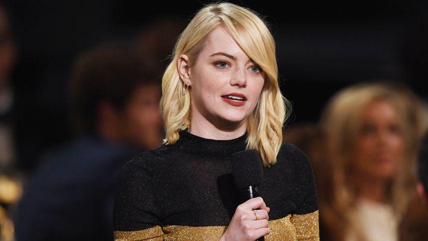 Viele Panikattacken: Emma Stone zeigt rührendes Therapie-Pic