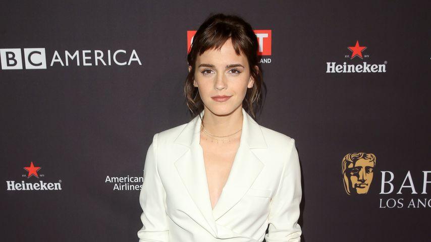 8 Jahre nach Pixie-Cut: Emma Watson mit neuer Pony-Frisur!