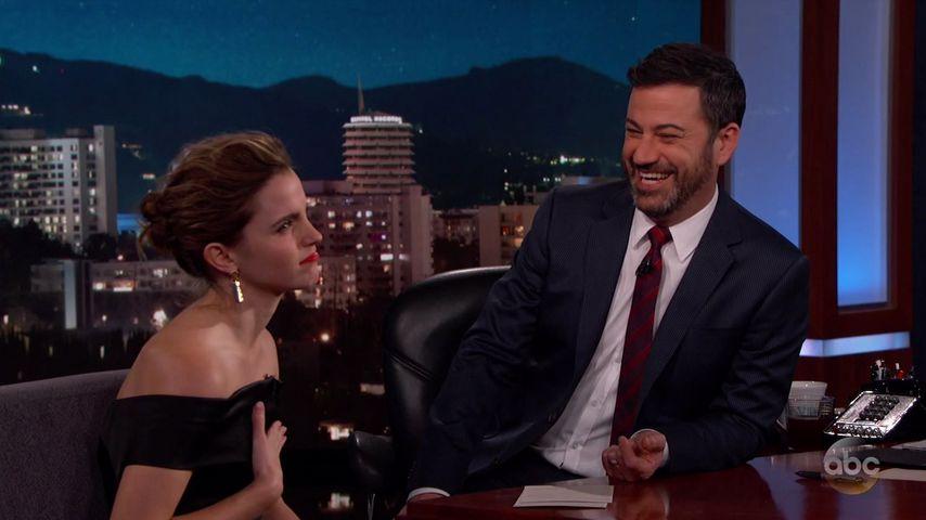 """Auweia! Emma Watson störte am Set von """"Harry Potter"""""""