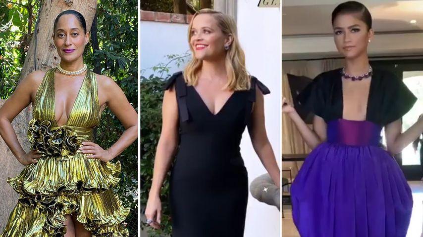 Die Looks der virtuellen Emmys: Abendkleid vs. Schlafanzug