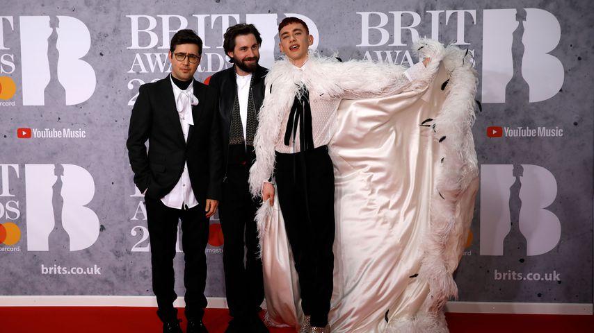 Years & Years bei den Brit Awards 2019: Emre Turkmen, Mikey Goldsworthy und Olly Alexander