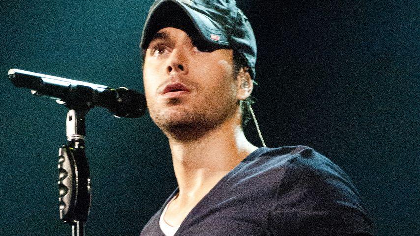 Blutiger Konzert-Unfall: Sorge um Enrique Iglesias!