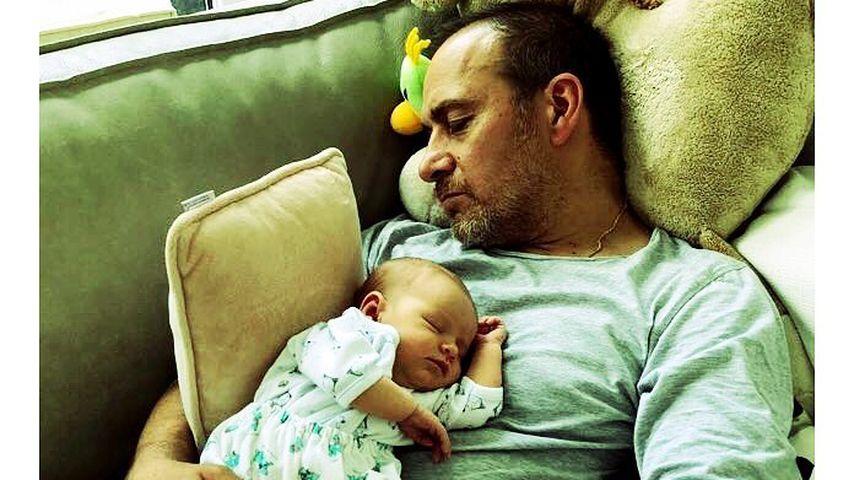Erdogan Atalay mit seiner Tochter