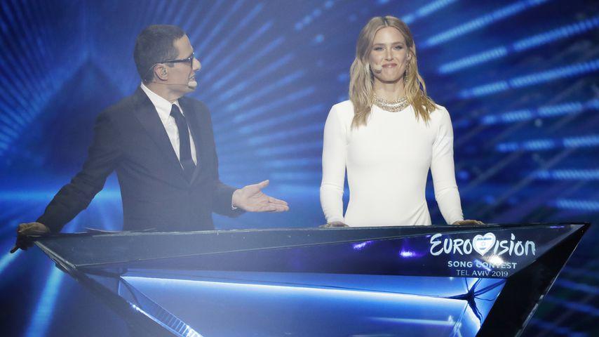 Erez Tal und Bar Refaeli beim Eurovision Song Contest 2019