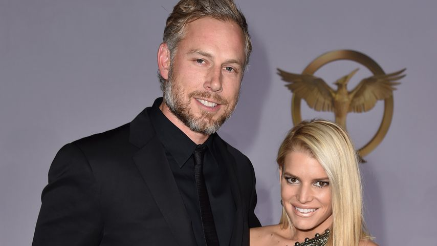 Eric Johnson und Jessica Simpson, 2014