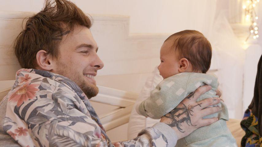 """Eric Stehfest mit seiner Tochter Aria in """"Eric gegen Stehfest: In Therapie"""""""