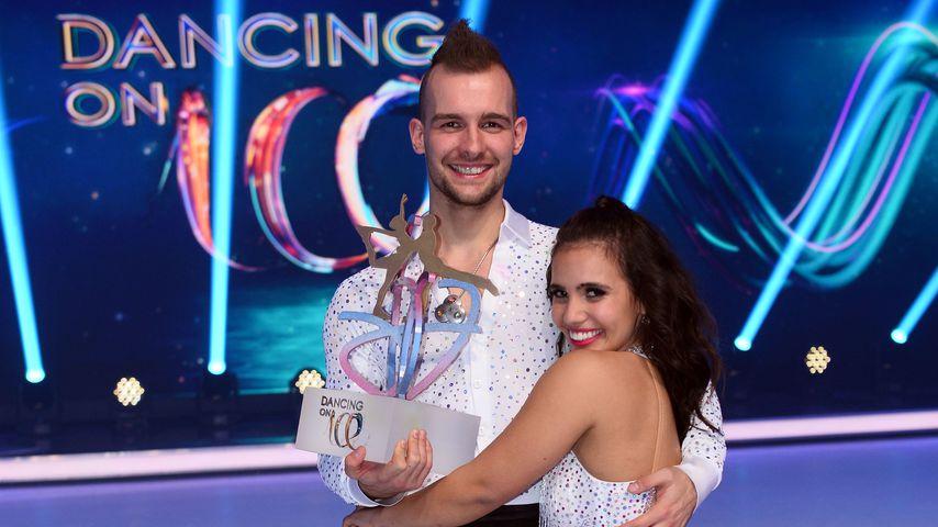 """Erste Worte von """"Dancing on Ice""""-Gewinner Eric Stehfest!"""