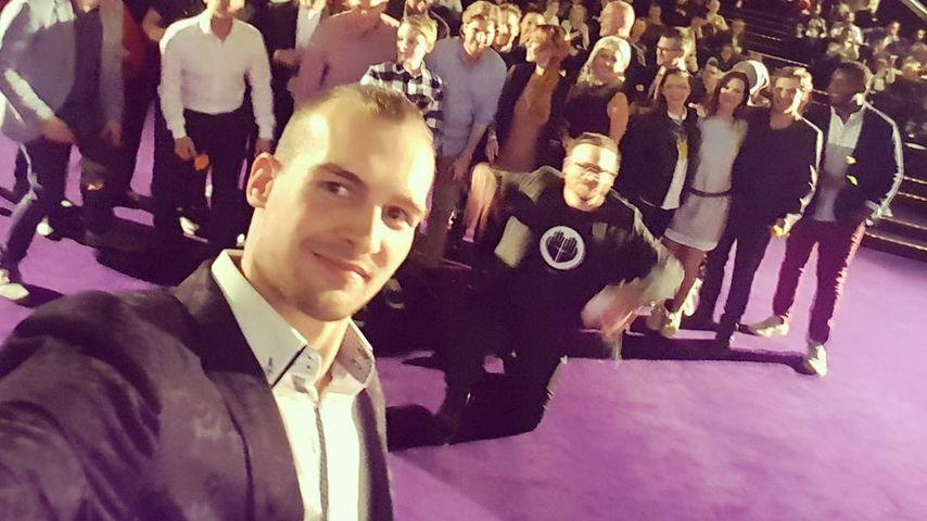 Eric Stehfest bei der Premiere seines Films TRIEB in Berlin