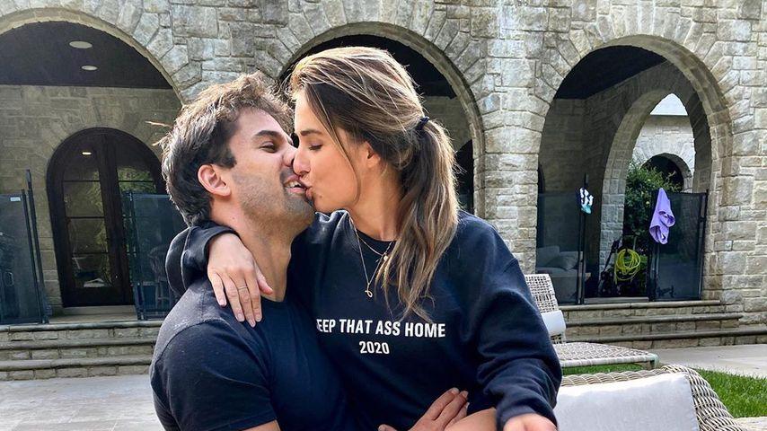 Eric und Jessie James Decker im April 2020