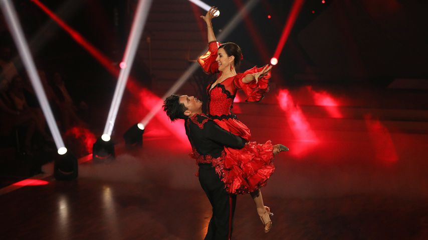 """Erich Klann und Judith Williams bei """"Let's Dance"""" 2018"""