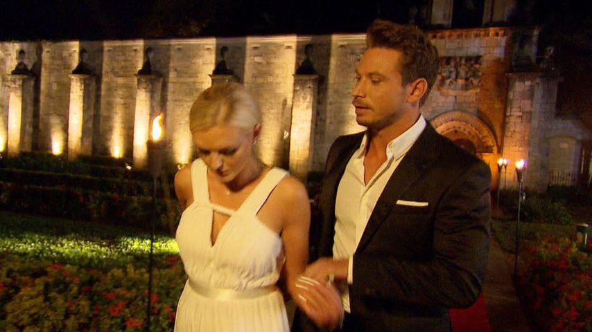 Erika Dorodnova und Sebastian Pannek im Bachelor-Finale 2017
