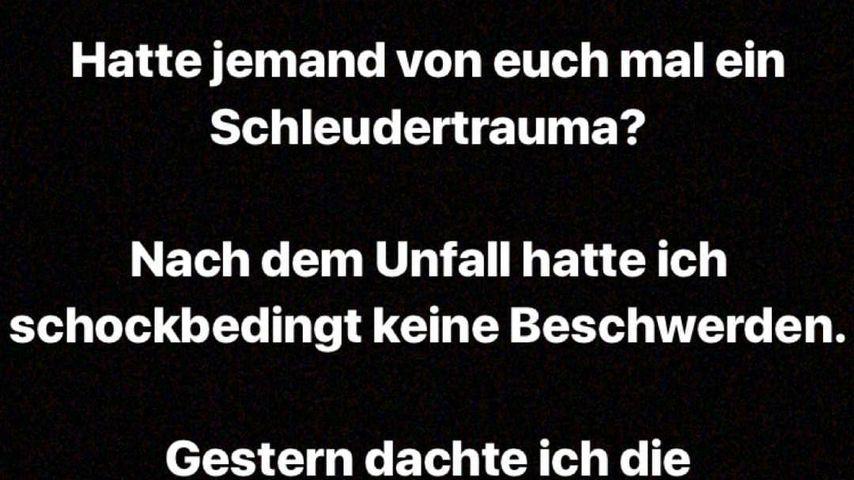 Erika Dorodnovas Instagram-Story