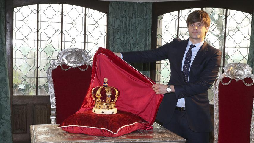 Ernst August Erbprinz von Hannover mit der Krone