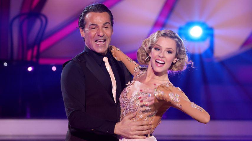 """Erol Sander tanzt mit Profitänzerin Patricija Belousova bei """"Let's Dance"""""""