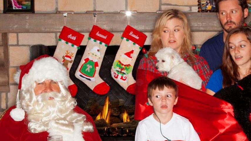 Kelly Clarkson: XMas-Gruß ihrer Patchwork-Familie