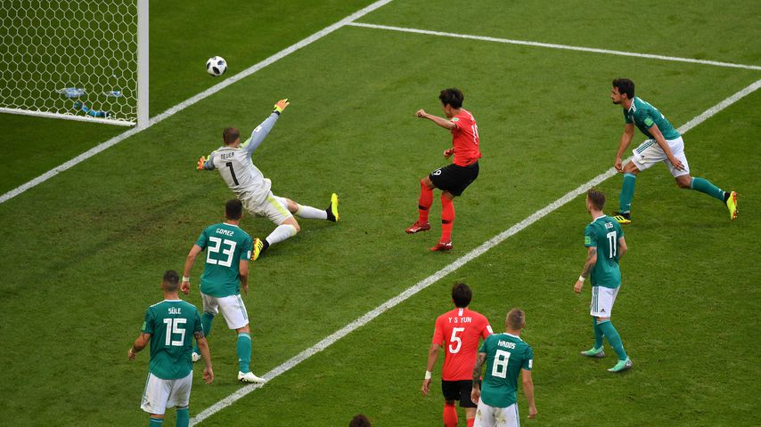Erstes Tor für Südkorea gegen Deutschland bei der WM
