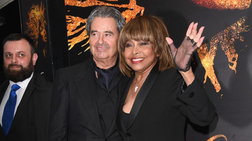 Erwin Bach und Tina Turner in London im April 2018