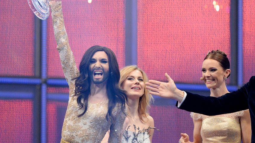 Conchita Wurst beim ESC-Sieg 2014