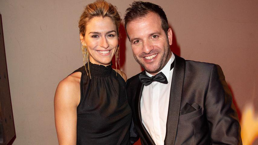 Estavana Polman und Rafael van der Vaart im Dezember 2019