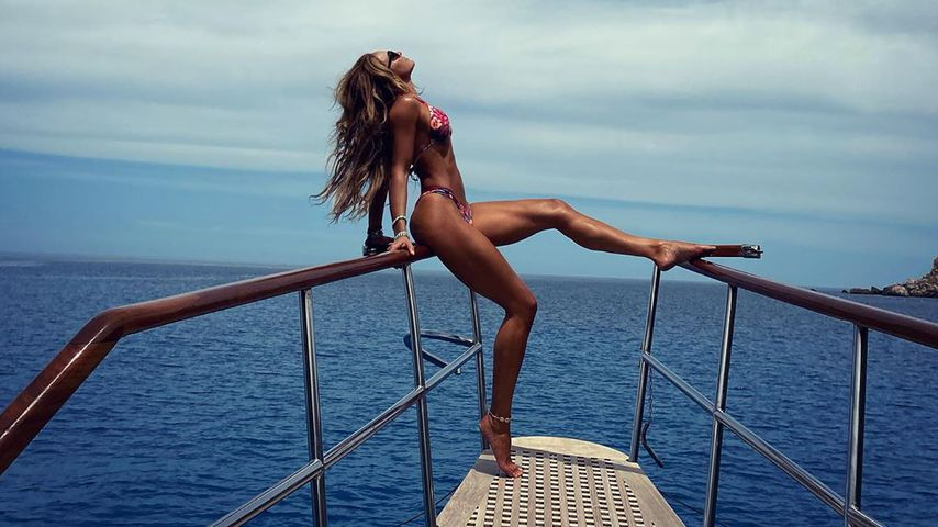 Sexy Blickfang: So hot posiert Bohlen-Ex Estefania im Bikini