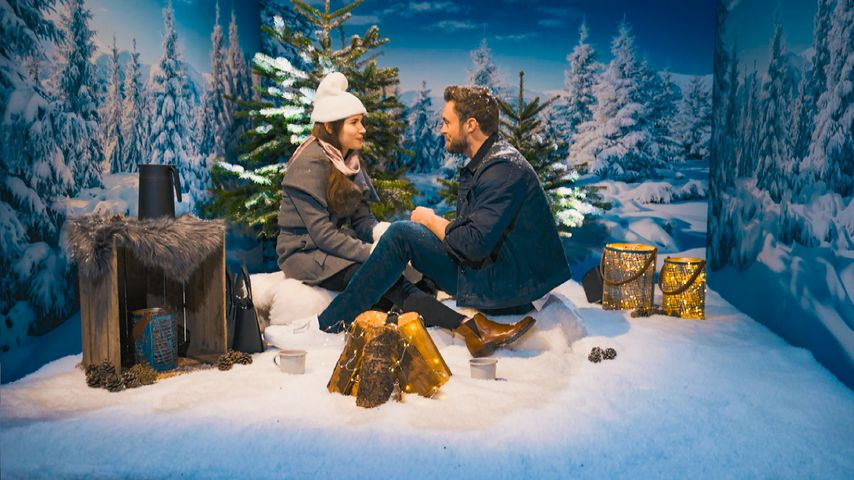 Der Bachelor Niko Griesert mit Esther Kobelt