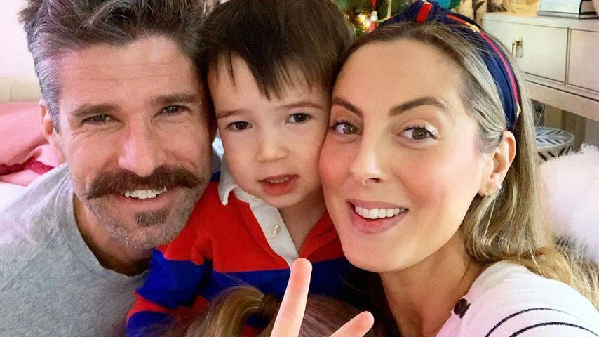 Eva Amurri Martino mit ihrem Mann Kyle und den gemeinsamen Kindern