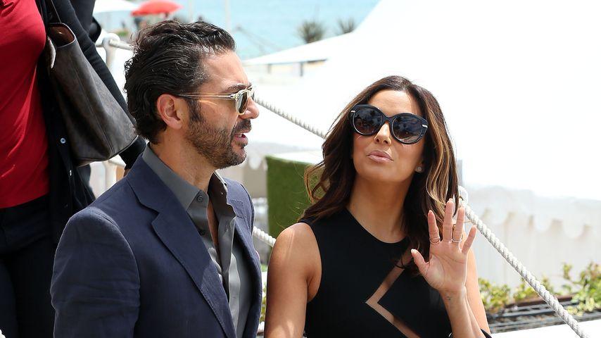 José Bastón und Eva Longoria in Cannes