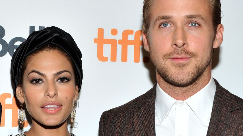 Eva Mendes und Ryan Gosling 2012