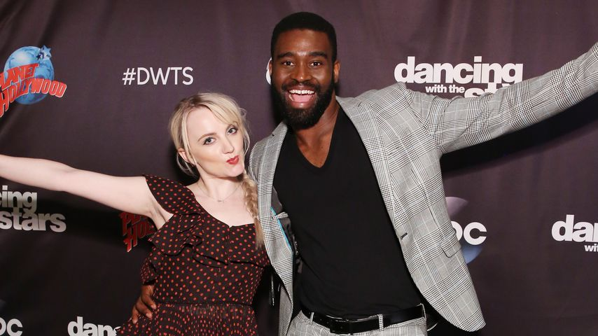 "Evanna Lynch und ""Dancing with the Stars""-Profi Keo Motsepe"