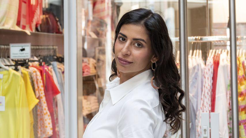 Evanthia Benetatou bei einer Store-Eröffnung, 2020