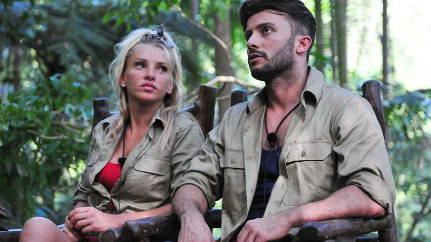 Evelyn Burdecki und Domenico De Cicco im Dschungelcamp 2019