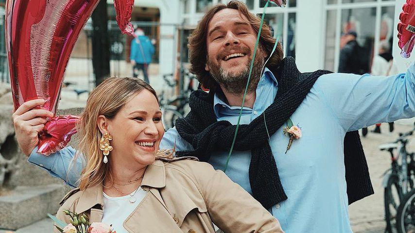 Evelyn Weigert und ihr Mann Alexander