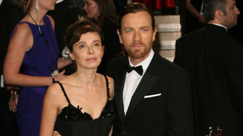 Eve Mavrakis und Ewan McGregor im März 2014 bei der Oscar-Verleihung in in Los Angeles