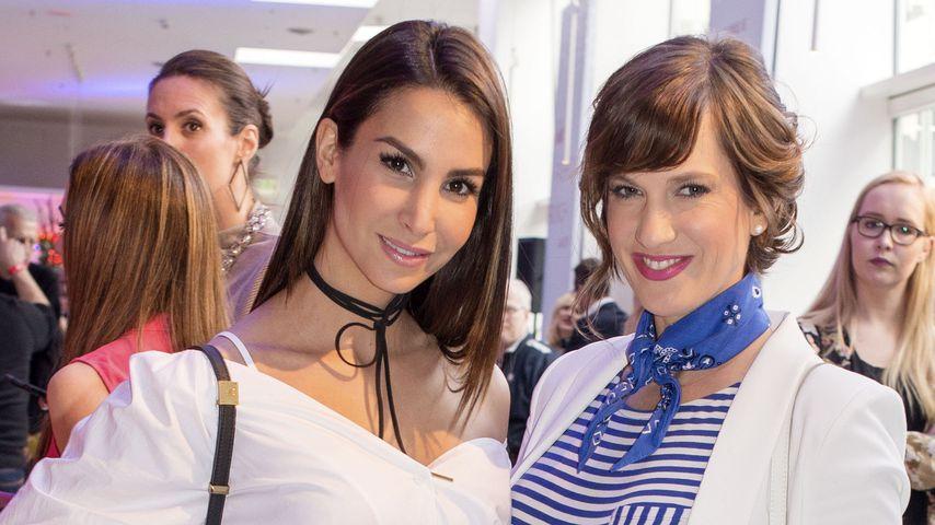 Ex-GZSZ-Stars Sila Sahin und Isabell Horn auf der Fashion Week Berlin 2017