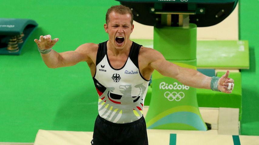 Fabian Hambüchen bei den Olympischen Spielen in Rio de Janeiro 2016