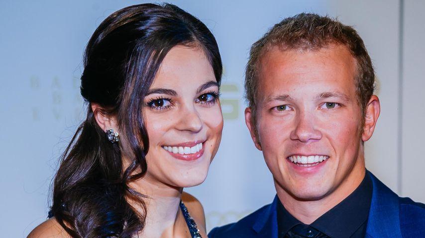 Fabian Hambüchen mit seiner Freundin Marcia bei der Sportler des Jahres Gala 2015