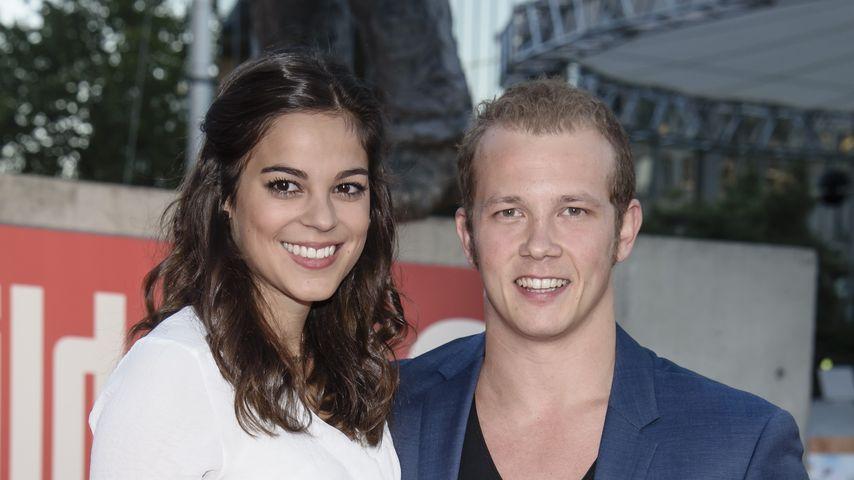 Fabian Hambüchen mit seiner Freundin Marcia Ev