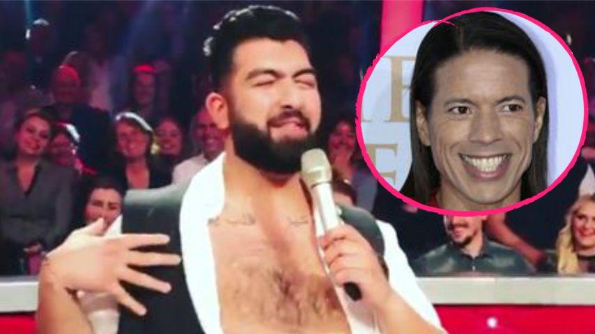 """Lacher in """"Let's Dance""""-Pause: Hier macht Faisal auf Jorge!"""