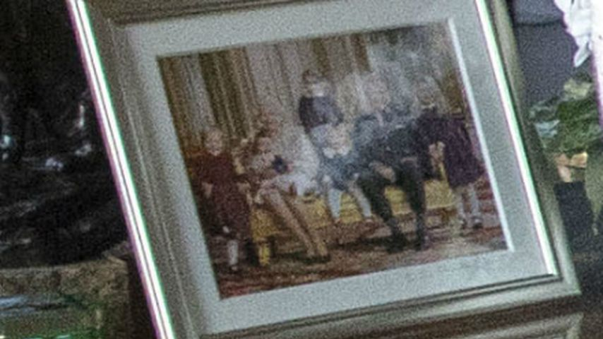Familienportrait der britischen Royals